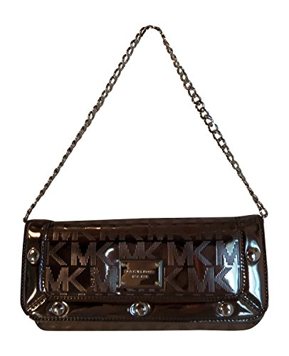 Michael Kors Delancy Clutch Nickel