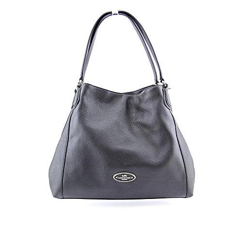 Coach Edie Medium Womens Leather Shoulder Bag
