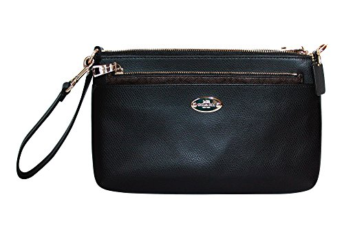 Coach Leather Large Wristlet Pop Pouch 52598 Clutch Purse
