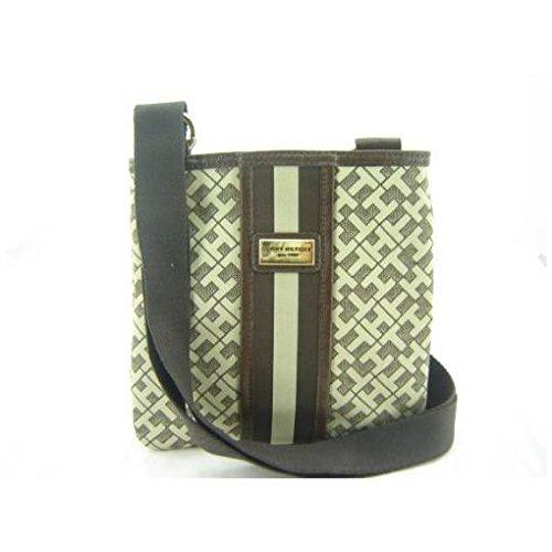 Tommy Hilfiger Small Xbody Crossbody Handbag Brown Multi