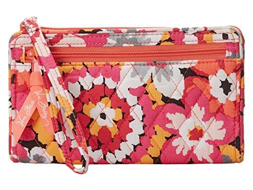 Vera Bradley Front Zip Wristlet Pixie Blooms Bag Carryall Wallet Clutch