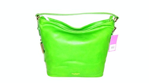 Isaac Mizrahi New York the Evalyn Collection Tote Bag Candy Apple Green