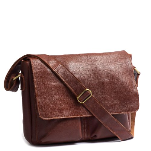 The Space Cross Body Bag Top Grain Leather
