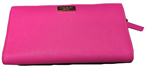 Kate Spade Newbury Lane Stacy Bougainvillea Pink Clutch Wallet WLRU1601