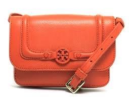 Tory Burch Slim Amanda Cross-body, Blood Orange, One Size