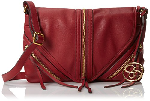 Jessica Simpson Carly Crossbody Bag Dark Cherry