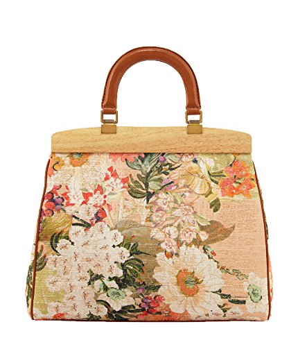 Tory Burch Floral Attersee Large Top Handle Satchel, Multi Floral