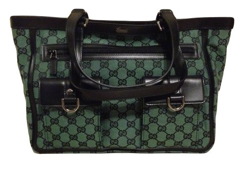 Gucci Medium Green Tote 272391