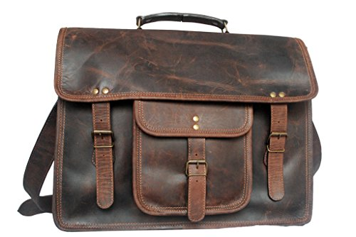 Leather Laptop Bag 15″ Leather Satchel Leather Messenger Bag Good Friday Deals by RusticTown