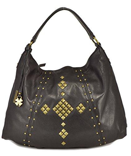 Lucky Brand Women's Dover Hobo Black