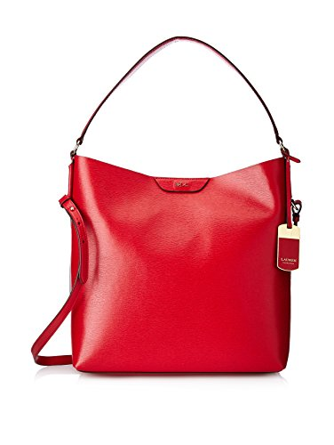NEW AUTHENTIC RALPH LAUREN TATE LEATHER HOBO (Red Cocoa)