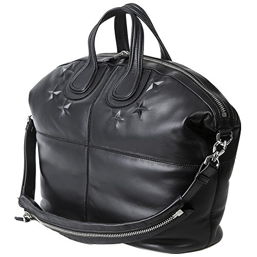 Givenchy Women's Embossed Star Two-Way Carry Leather Bag
