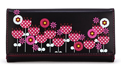 Scarleton Womens Floral Wallet H3325