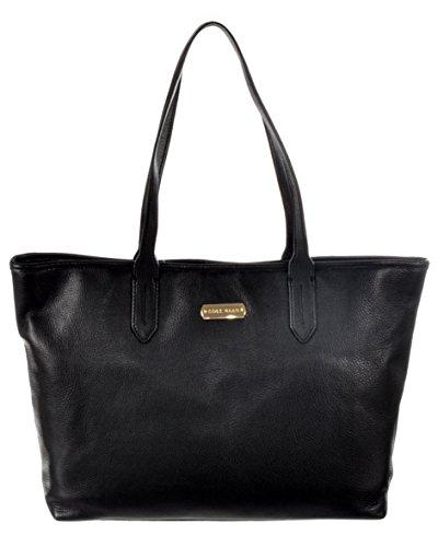 Cole Haan Black Leather Item Tote Handbag