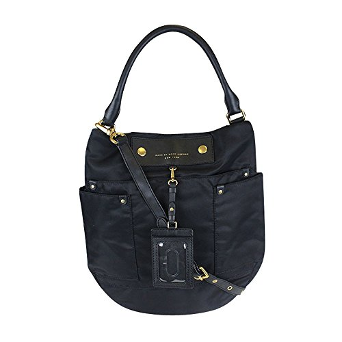 Marc by Marc Jacobs Preppy Nylon Hillier Hobo Black