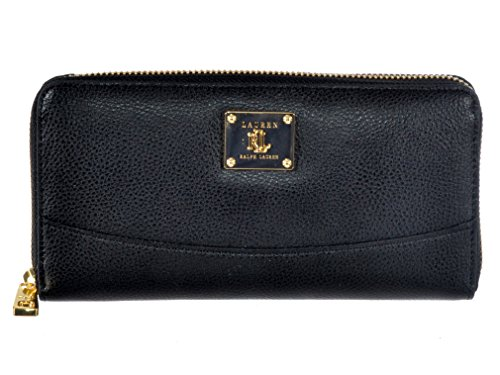 Ralph Lauren Winchester Zip Around Wallet in Black
