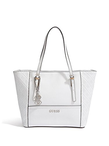 GUESS Women's Delaney Logo-Embossed Small Classic Tote