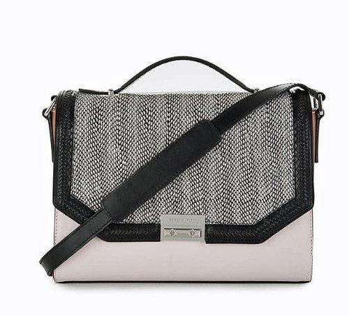BCBG Gemma IOV349LE-001 Whip-Stitch Shoulder Bag
