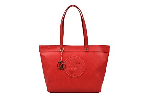 Armani Jeans | Shopping Bag | Red 0525f-r1-4l Summer 2015 Collection
