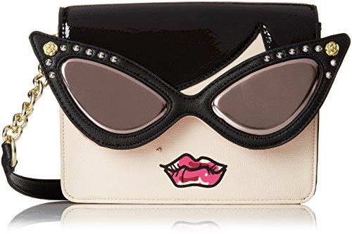 Betsey Johnson Kitchi Face BJ44420 Cross Body Bag