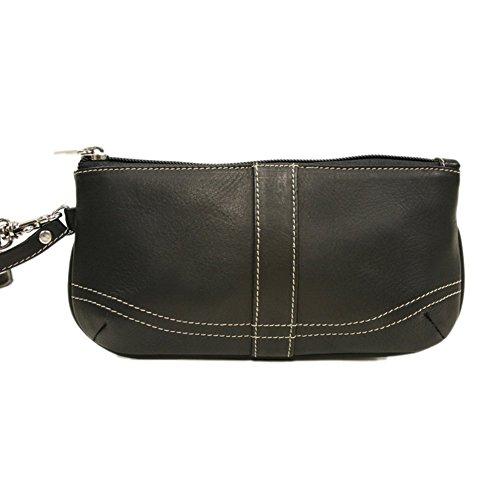 Piel Leather Large Ladies Wristlet