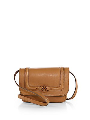 Tory Burch Womens Amanda Slim Cross Body, Royal Tan, One Size