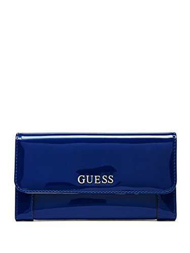 GUESS Women's Delaney Patent Slim Clutch