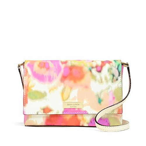 Kate Spade WKRU3024 Sally Grant Street Floral Cross Body Handbag