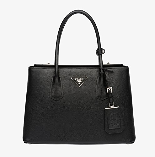 Prada Double Handle Tote BN2823 Nero/Black
