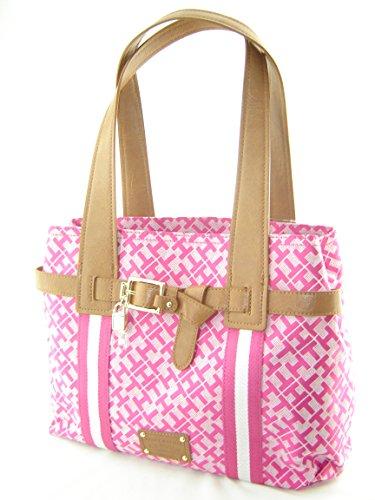 Tommy Hilfiger Pelham Shopper Handbag Pink Multi