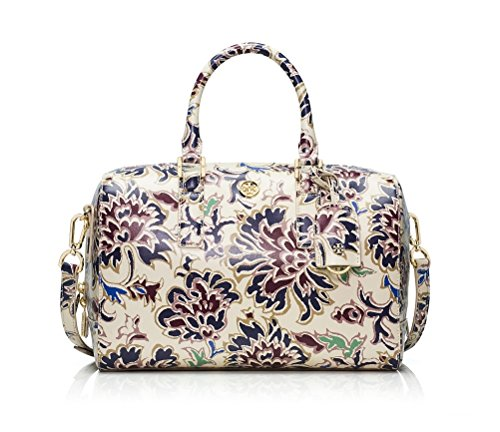Tory Burch Robinson Printed Middy Satchel Voyage Floral