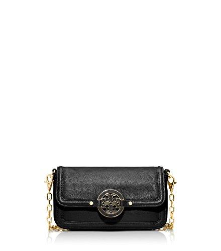 Tory Burch Amanda Chain Strap Mini Crossbody Bag, Black