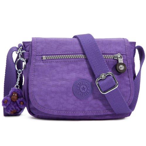 Kipling Sabian Crossbody Handbag Vivid Purple