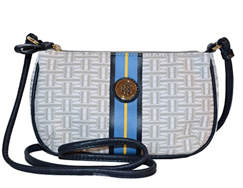 Tommy Hilfiger Signature TZ Crossbody Messenger Bag Handbag Purse