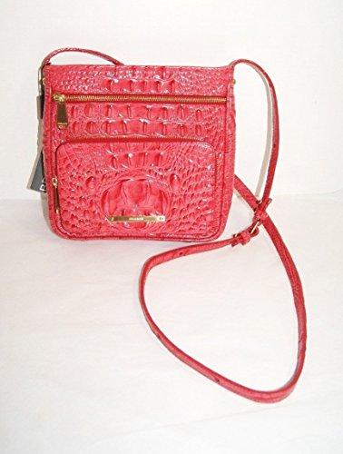Brahmin Tilda Leather Crossbody Bag Melbourne Tulip Pink