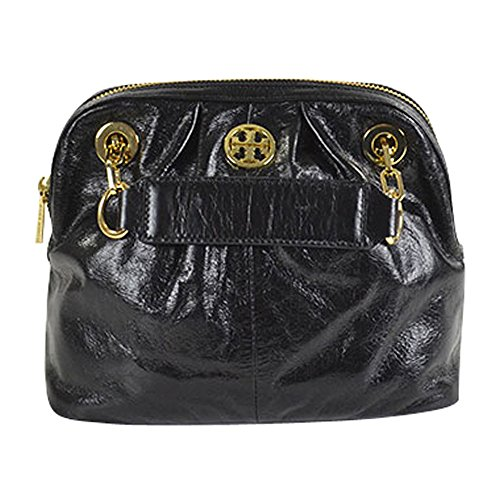 Tory Burch Black Dena Shoulder Bag Crossbody Black