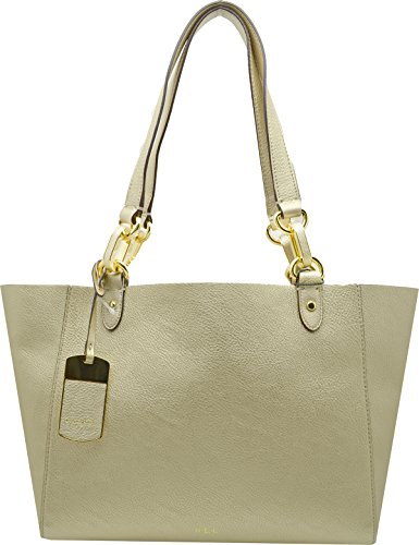Lauren Ralph Lauren Womens Bembridge East West Gold Tote