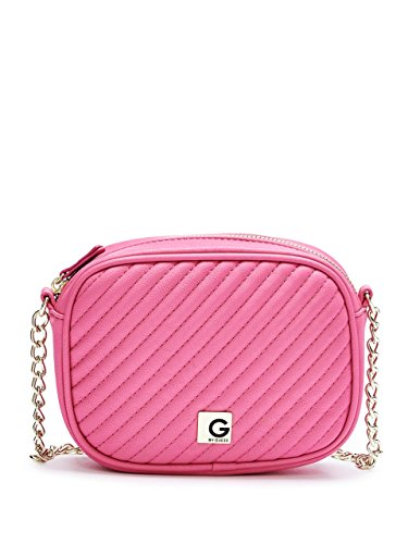 G by GUESS Women's Marzia Quilted Cross-Body