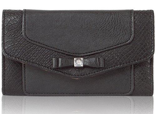 Jessica Simpson Tara Flapover Checkbook Wallet