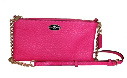 Coach Quinn Pebbled Leather Crossbody Purse – #F52709