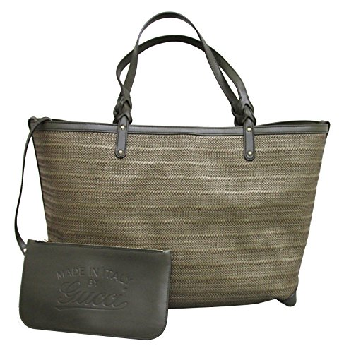 Gucci Craft Large Green Tote Bag Handbag 247207