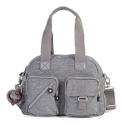 Kipling Nylon Defea Handbag – Dusty Grey – HB3170-021