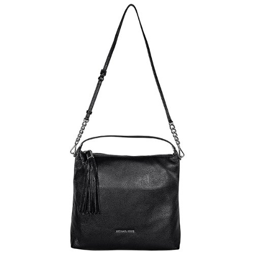 Michael Kors Weston Large Black Shoulder Bag in Black