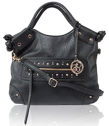 Jessica Simpson Camellia Foldover Crossbody Hobo Bag