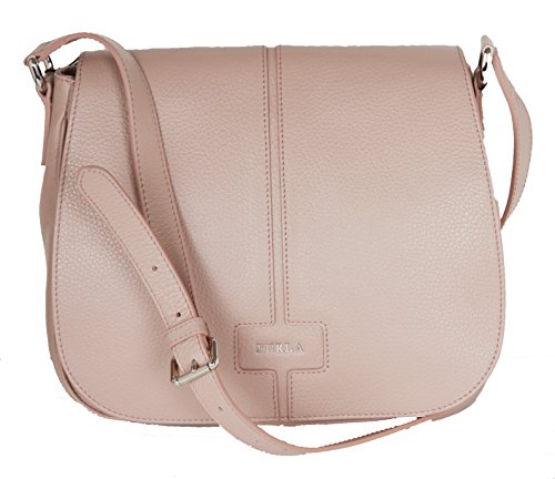 Furla Manola Leather Cross-body Clutch bag Tan