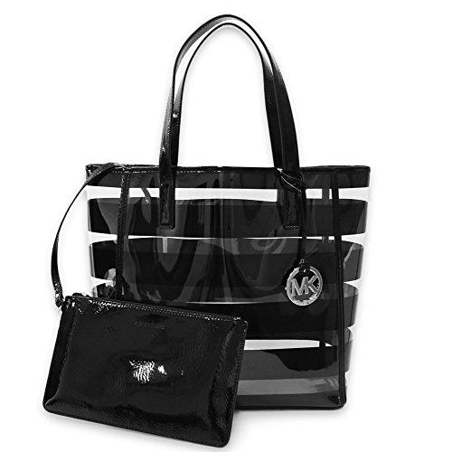 Michael Kors Eliza Women's Plastic Tote Beach Bag Handbag
