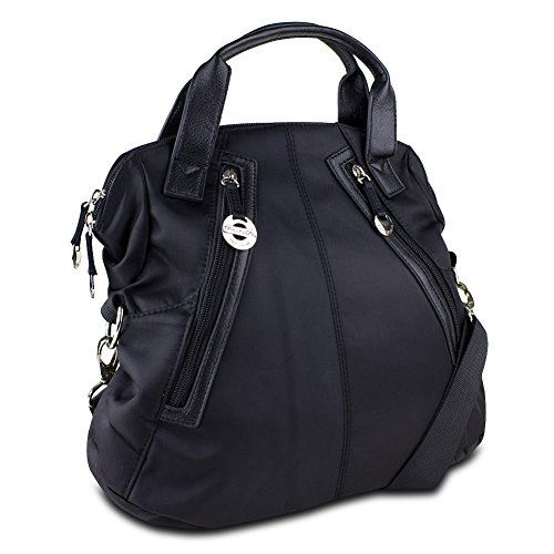Travelon Tote with Front Pockets, Black