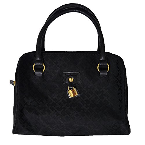 Tommy Hilfiger Satchel Purse in Black