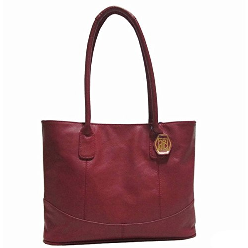 Amerileather Casual Leather Handbag Red 1827-0578