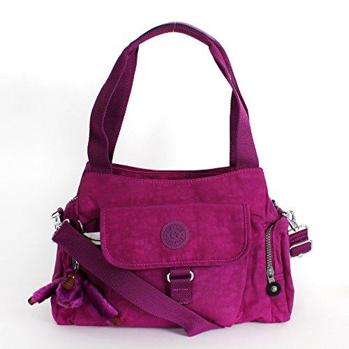 Kipling Fairfax Shoulder Bag Crossbody Purple Dahli